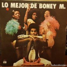 Discos de vinilo: LO MEJOR DE BONEY M. Lote 211809966