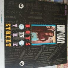 Discos de vinilo: EDDY GRANT BOYS IN THE STREET. Lote 211810811
