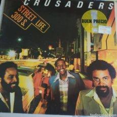 Discos de vinilo: CRUSADERS STREET LIFE. Lote 211811172