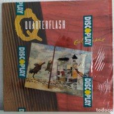Discos de vinilo: QUARTERFLASH ?– GIRL IN THE WIND. Lote 211811781
