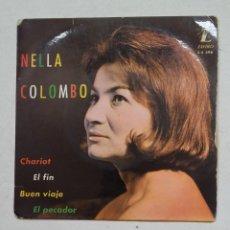 Discos de vinilo: NELLA COLOMBO - CHARIOT +3 - EP. TDKDS15. Lote 211813045