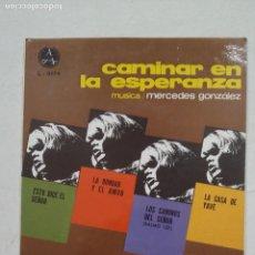 Discos de vinilo: MERCEDES GONZALEZ. ESTO DICE EL SEÑOR / LA BONDAD Y EL AMOR +2 EP. TDKDS15. Lote 211813158