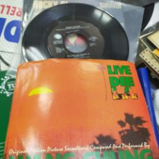 Discos de vinilo: WANG CHUNG SINGLE B.S.O. TO LIVE AND DIE IN L.A. 1985 U.S.A.. Lote 211813268