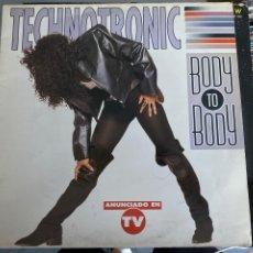 Discos de vinilo: TECHNOTRONIC - BODY TO BODY (LP, ALBUM). Lote 211814596