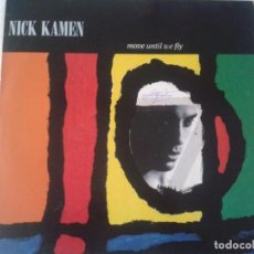 Discos de vinilo: NICK KAMEN - MOVE UNTIL WE FLY AÑO 1990 DISCO DE VINILO - LP. Lote 211816583