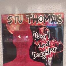 Discos de vinilo: STU THOMAS–DEVIL AND DAUGHTER. LP VINILO PRECINTADO. ALTERNATIVE ROCK FROM AUSTRALIA.. Lote 211821996