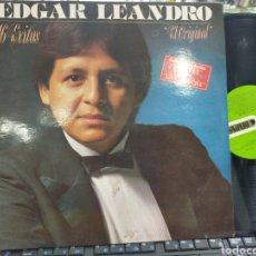 Discos de vinilo: EDGAR LEANDRO LP 16 ÉXITOS ESPAÑA 1991. Lote 211822733