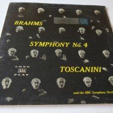 Discos de vinilo: BRAHMS.AÑO 1958.. Lote 211823962
