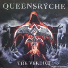 Discos de vinilo: QUEENSRŸCHE - THE VERDICT (2019. EUROPA) METAL PROGRESIVO. Lote 211827131