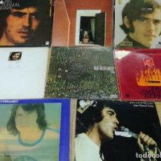 Discos de vinilo: LOTE DE 8 LPS DE JOAN MANUEL SERRAT VER FOTOS. Lote 211827443