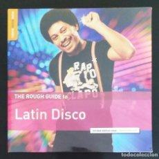 Discos de vinilo: VARIOS - THE ROUGH GUIDE TO LATIN DISCO (2016. EUROPA) ELECTRÓNICA. Lote 211827957