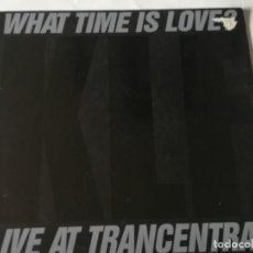 Discos de vinilo: THE KLF - WHAT TIME IS LOVE? (LIVE AT TRANCENTRAL) - 1990. Lote 211829668