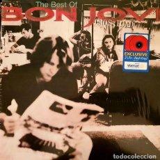 Disques de vinyle: BON JOVI CROSS ROAD 2 LP RED VINYL. Lote 211832333