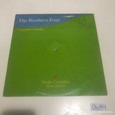 Discos de vinilo: BROTHERS FOUR. Lote 211838918