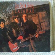 Discos de vinilo: LOS DEL TONOS - CALAMAR LP DE VINILO (SPAIN, LA FABRICA MAGNETICA 1991) EXCELENTE ESTADO. Lote 211842795