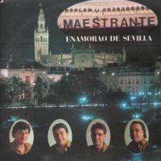 Discos de vinilo: SEVILLANAS - MAESTRANTE - ENAMORAO DE SEVILLA LP TROVADOR DE 1991 RF-8110 , PERFECTO ESTADO. Lote 211847223