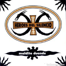 "Discos de vinilo: HEROES DEL SILENCIO MALDITO DUENDE PROMO 2019 VINILO 7"". Lote 211848872"