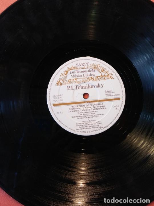 LOS TESOROS DE LA MÚSICA CLÁSICA. SARPE. P.I TCHAIKOVSKY. RECUERDOS DE FLORENCIA. (Música - Discos - LP Vinilo - Otros estilos)