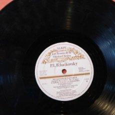 Discos de vinilo: LOS TESOROS DE LA MÚSICA CLÁSICA. SARPE. P.I TCHAIKOVSKY. RECUERDOS DE FLORENCIA.. Lote 211850022