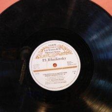 Discos de vinilo: LOS TESOROS DE LA MÚSICA CLÁSICA. SARPE. P.I TCHAIKOVSKY. CONCIERTO EN RE MAYOR PARA VIOLÍN Y ORQUES. Lote 211850166