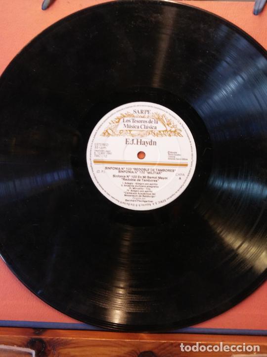 LOS TESOROS DE LA MÚSICA CLÁSICA. SARPE. F.J. HAYDN. SINFONÍA Nº103 REDOBLE DE TAMBORES. (Música - Discos - LP Vinilo - Otros estilos)