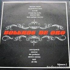 Discos de vinilo: BOLEROS DE ORO + BOLEROS DE ORO VOL.2. Lote 211850750