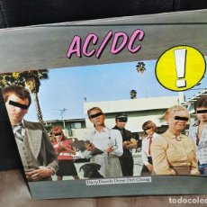 Discos de vinilo: AC&DC ACDC DIRTY DEEDS DONE DIRT CHEAP LP 1976 ATLANTIC EDICION ALEMANA GERMANY. Lote 211855535