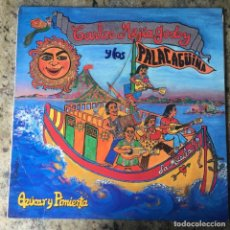 Discos de vinilo: CARLOS MEJÍA GODOY Y LOS DE PALACAGÜINA - AZÚCAR Y PIMIENTA . LP . 1991 PASION DISCOS. Lote 211859930
