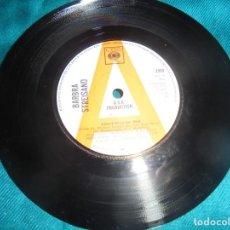 Discos de vinilo: BARBRA STREISAND. STOUT-HEARTED MEN / LOOK. CBS, 1967. PROMOCIONAL. EDC. UK.(#). Lote 211865815