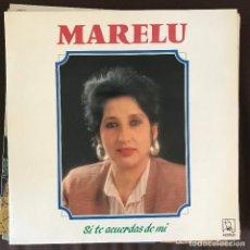 Discos de vinilo: MARELU - SI TE ACUERDAS DE MÍ - LP HORUS 1989. Lote 211869268