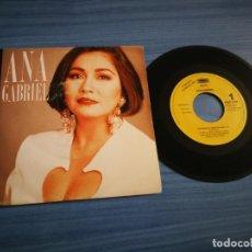 Discos de vinilo: ANA GABRIEL ES DEMASIADO TARDE SINGLE VINILO PROMO ESPAÑA DEL AÑO 1993 1 SOLO TEMA. Lote 211869478