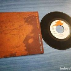 Discos de vinilo: MIKEL ERENTXUN A UN MINUTO DE TI / LAGRIMAS DE FUEGO Y CENIZA SINGLE VINILO PROMO DUNCAN DHU 2 TEMAS. Lote 211870308
