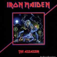 Discos de vinilo: IRON MAIDEN ‎– THE ASSASSIN -LP-. Lote 211870475