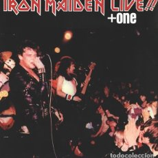 Discos de vinilo: IRON MAIDEN – LIVE!! + ONE -LP-. Lote 278817533