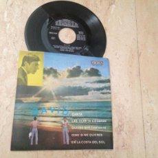 Discos de vinilo: DAVID - CANTA - DIME SI ME QUIERES (VERSION EN CASTELLANO) + 3 IBERIA 1971-MUYRARO. Lote 211873587