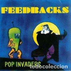 Discos de vinilo: FEEDBACKS – POP INVADERS. Lote 211878775