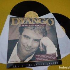 Discos de vinilo: 2 LP DYANGO – DIRECTO AL CORAZON - SUS 28 GRANDES EXITOS - NOSTALGIA• EX+/M-/M-. Lote 211878906
