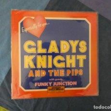 Discos de vinilo: LOT 45 LP FUNK SOUL UK 75 CLADY'S KNIGHT AND THE PIPS ESPECIALLY FOR YOU VINILO BUEN ESTADO. Lote 211888606