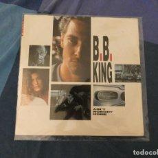 Discos de vinilo: LOT 45 LP DESDE 1€ A TU RIESGO MAXI PROMO LEVI'S B.B. KING I NOBODY HOME ACUSA BASTANTE USO. Lote 211889855