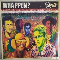 Discos de vinilo: THE BEAT – WHA'PPEN?. Lote 211898337