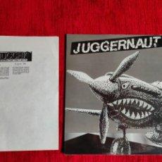 Discos de vinilo: JUGGERNAUT/ SU LP PARA EL SELLO ITALIANO SPITTLE. Lote 211909765