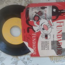 Discos de vinilo: LOTE 5 DISCOS SORPRESA FUNDADOR. Lote 211909810