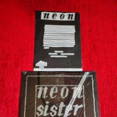 Discos de vinilo: NEÓN ( FLORENTINOS ) RED LIGHT/ HOJA PROMO/ ORIGINAL ITALIANO. Lote 211910966