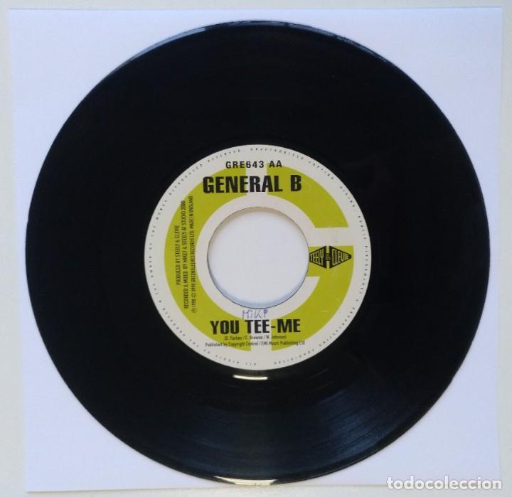 "GENERAL B - YOU TEE-ME / HAWKEYE - MOVIE [REGGAE / DANCEHALL ORIGINAL] 7"" 45RPM [1998] (Música - Discos - Singles Vinilo - Reggae - Ska)"