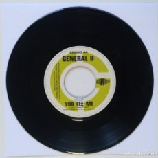 "Discos de vinilo: GENERAL B - YOU TEE-ME / HAWKEYE - MOVIE [REGGAE / DANCEHALL ORIGINAL] 7"" 45RPM [1998]. Lote 211927483"