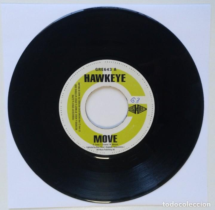 "Discos de vinilo: GENERAL B - YOU TEE-ME / HAWKEYE - MOVIE [REGGAE / DANCEHALL ORIGINAL] 7"" 45RPM [1998] - Foto 2 - 211927483"