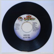 "Discos de vinilo: BEENIE MAN - GOOD OHH / CHRISINTI & DELLY RANKS - SHAK [REGGAE / DANCEHALL ORIGINAL] 7"" 45RPM [2003]. Lote 211928052"