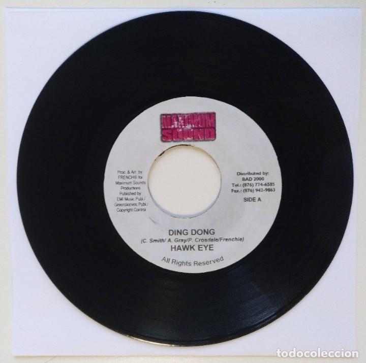"HAWK EYE - DING DONG / DESPERADO - BUN 5.0 [REGGAE / DANCEHALL ORIGINAL] 7"" 45RPM [2003] (Música - Discos - Singles Vinilo - Reggae - Ska)"