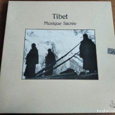 Discos de vinilo: TIBET - MUSIQUE SACRÉE ************* RARO LP OCORA 1988 PORTADA DOBLE GRAN ESTADO. Lote 211933387