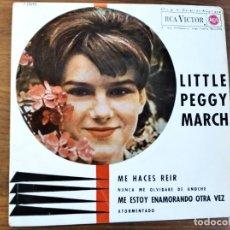 Discos de vinilo: LITTLE PEGGY MARCH - YOU MAKE ME LAUGH + 3 *********** RARO EP ESPAÑOL 1963. Lote 211933501